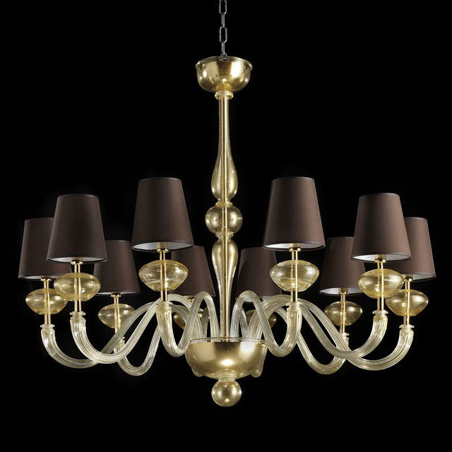 Castore Murano glass chandelier