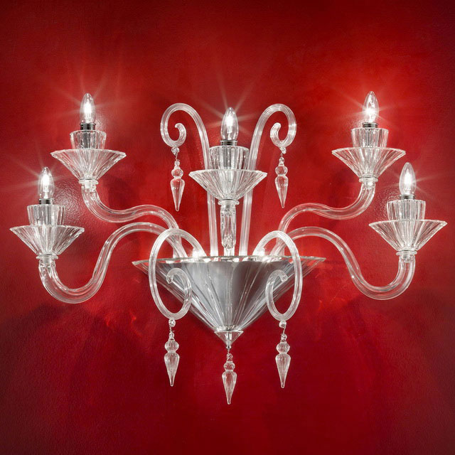 Dioniso Murano glass sconce