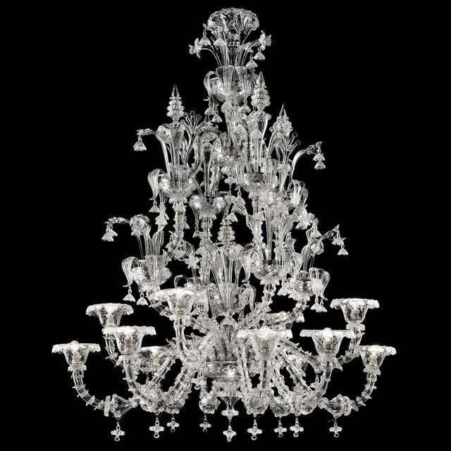 Ginevra Murano glass chandelier