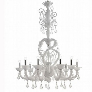 Neve Murano glass chandelier