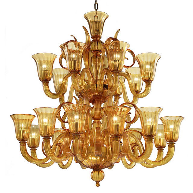 Diogene Murano glass chandelier