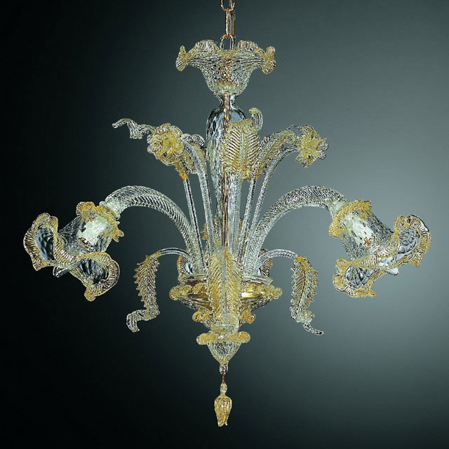 Canal Grande small Murano glass chandelier