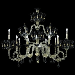 Nerino Murano glass chandelier