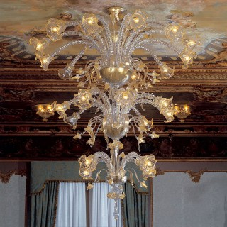 Emilia Murano glass chandelier