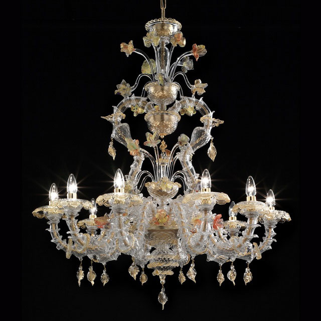 Fondaco Murano glass chandelier