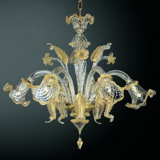 Canal Grande Murano glass chandelier