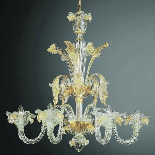 Accademia Murano glass chandelier