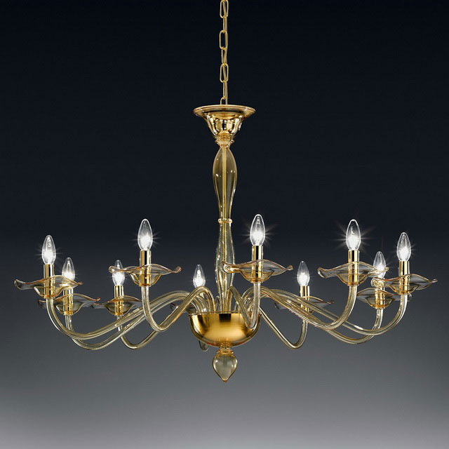 Aragona Murano glass chandelier