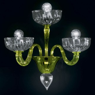 Andronico Murano glass sconce