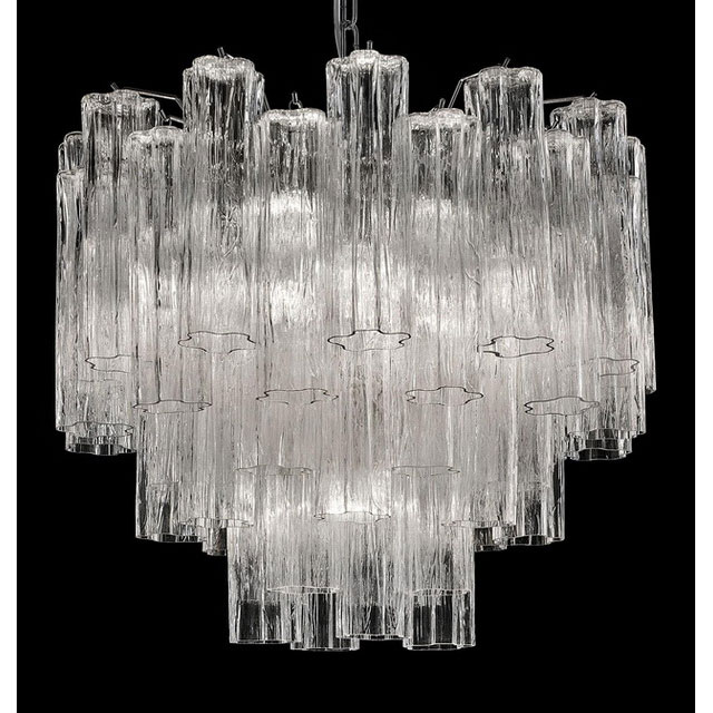 Holly large Murano glass chandelier