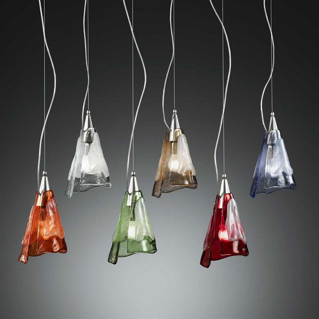 Maristella Murano glass pendant light