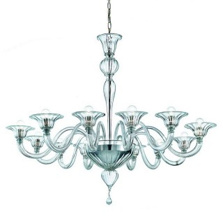 Doge large Murano glass chandelier