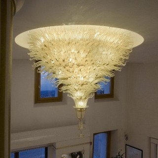 Fantastico special Murano glass ceiling light