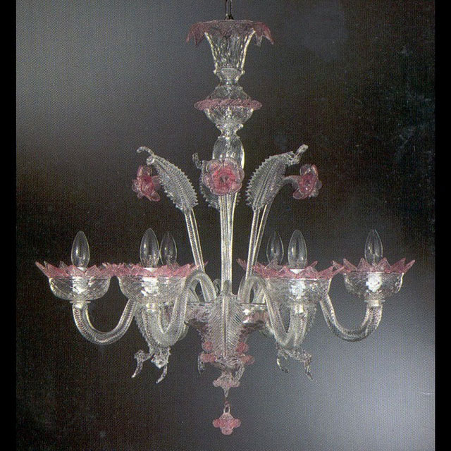 Casanova Murano glass chandelier